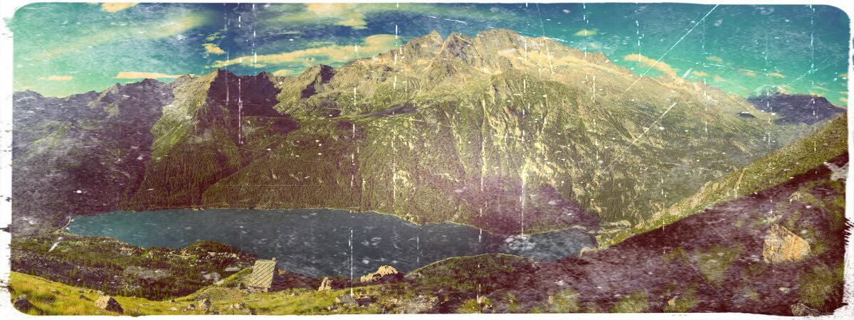 A Ceresole Reale, nel 1874