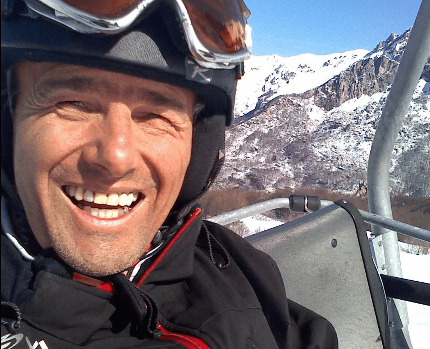 Aldo Baudino: lo sci paralimpico sulle nevi di Limone