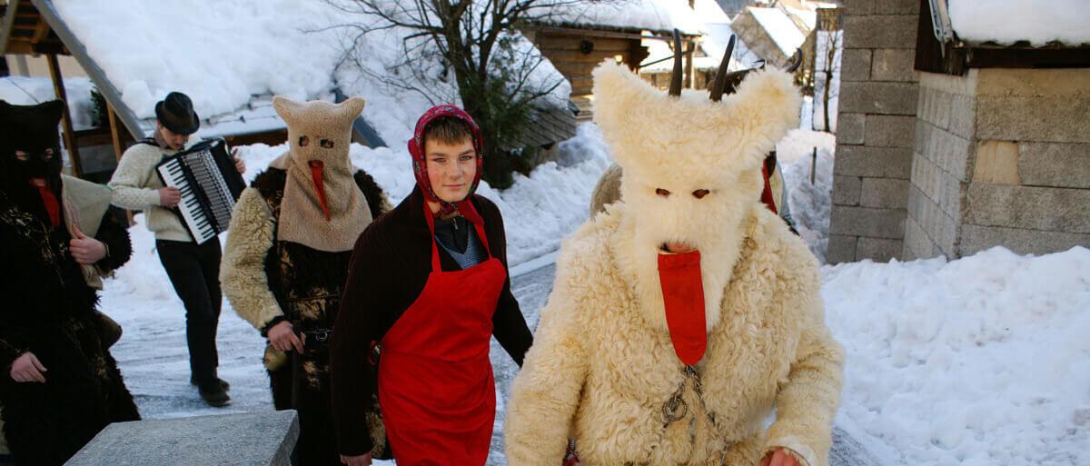 Otepovci – Le maschere del nuovo anno a Bohinj