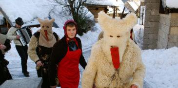 Otepovci - Le maschere del nuovo anno a Bohinj