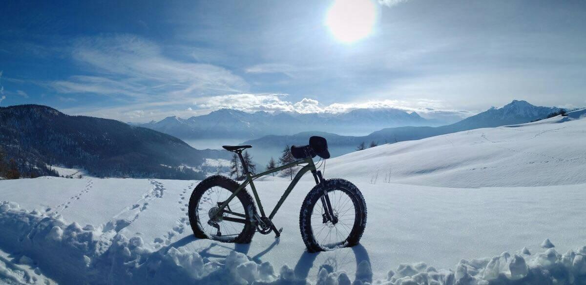 La Magdeleine di Rosario Sorrentino tra Sleddog ed e-bike