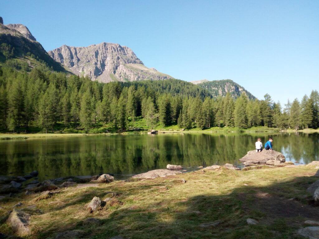 Il lago di San Pellegrino