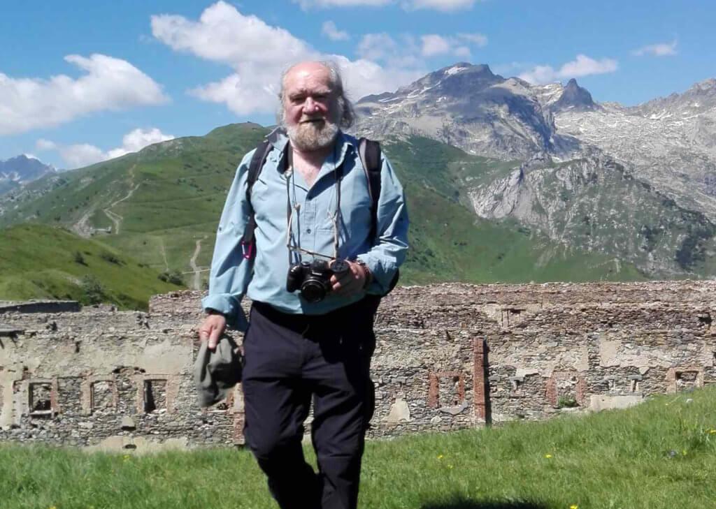 Jacques Bellone, esperto botanico di Limone Piemonte