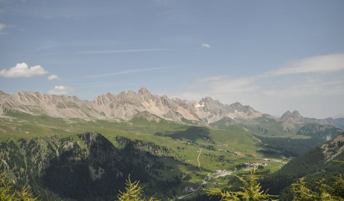Panorama Col Margherita, Moena