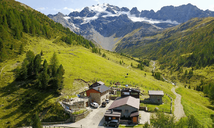 Alpe Boron, estate in fattoria in Valdidentro