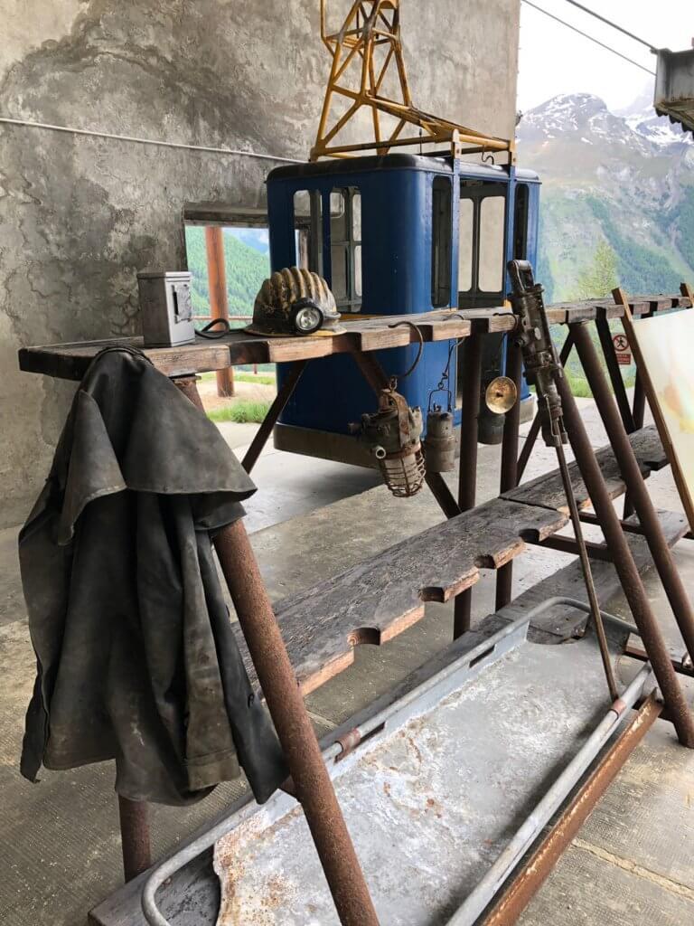 Viaggio nella storia della miniera di Cogne