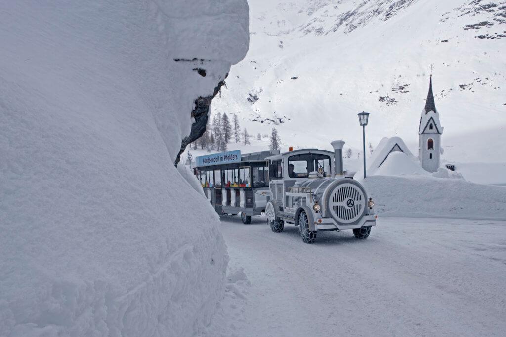 Il trenino di Plan, perla alpina della Val Passiria