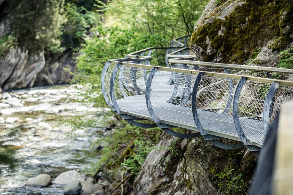 Itinerario nella perla alpina di Moso