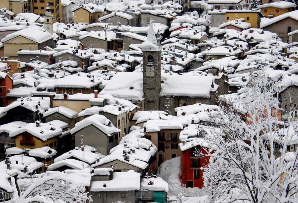 Sulla neve senza auto a Limone Piemonte