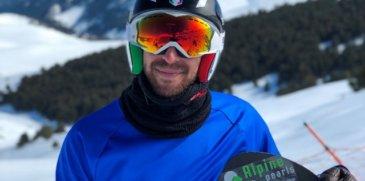 Snowboard Cross: in bocca al lupo Lorenzo - parte a Cervinia la Coppa del Mondo