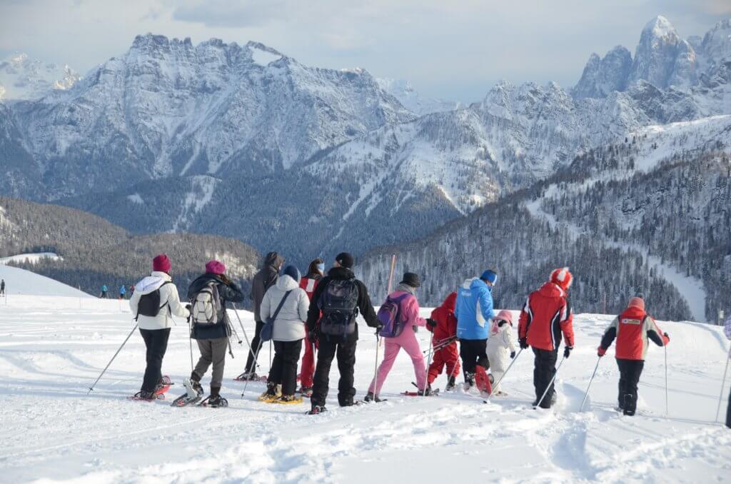 """Ciasplolata """"Specchi delle Fate"""" a Passo San Pellegrino, Moena Outdoor Winter"""