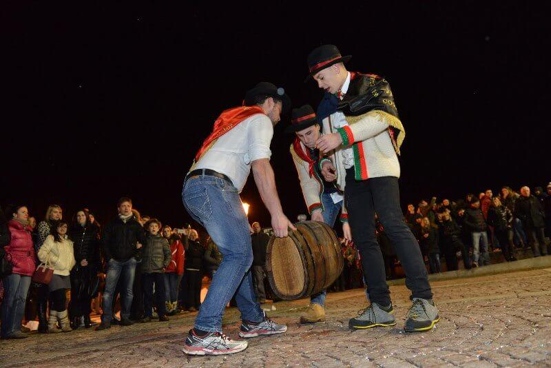Festa del Barö - Coscritti a Cogne