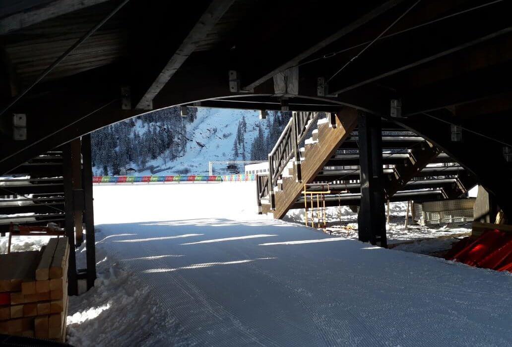Atleta per un giorno sulla pista della Cross-Country Ski World Cup a Cogne