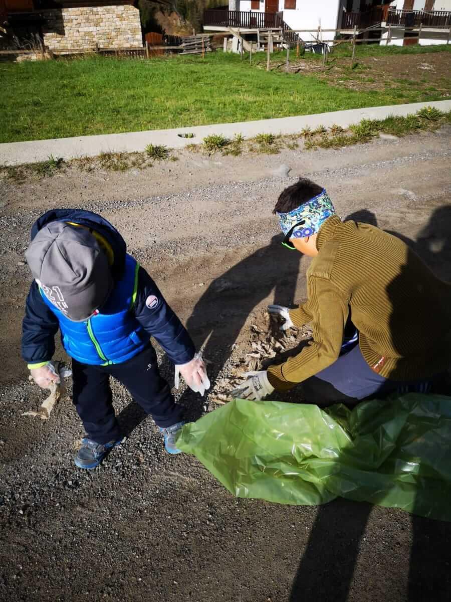 Piccoli volontari ecologici