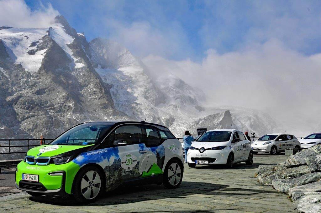 auto elettriche in partenza