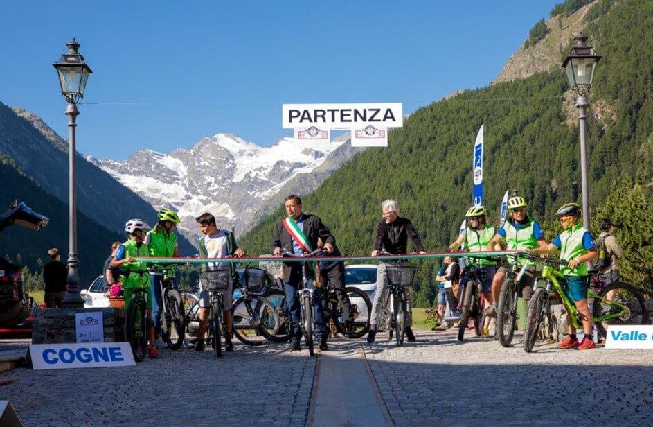 Cogne, prima tappa dell'Alpine Pearls E-tour, è da sempre attenta all'ambiente