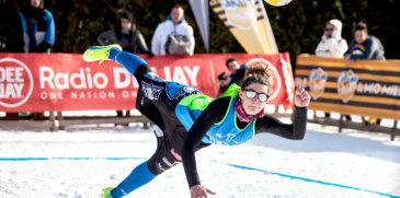 Snow Volley: dalle spiagge del beach alle nevi di Moena