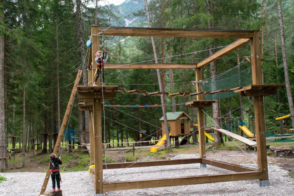 Adventure Cube al Dolomiti Adventure Park
