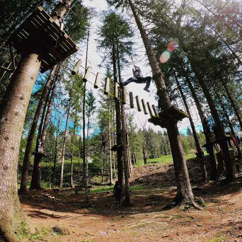 Dolomiti Adventure Park - Percorso verde