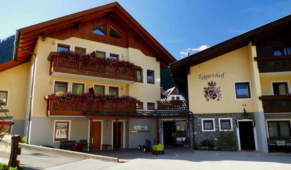 Eggerhof, l'hotel dove le famiglie sono di casa