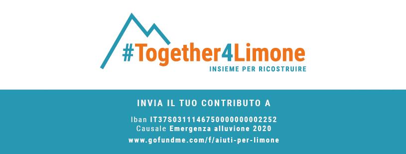 Campagna raccolta fondi alluvione Limone Piemonte