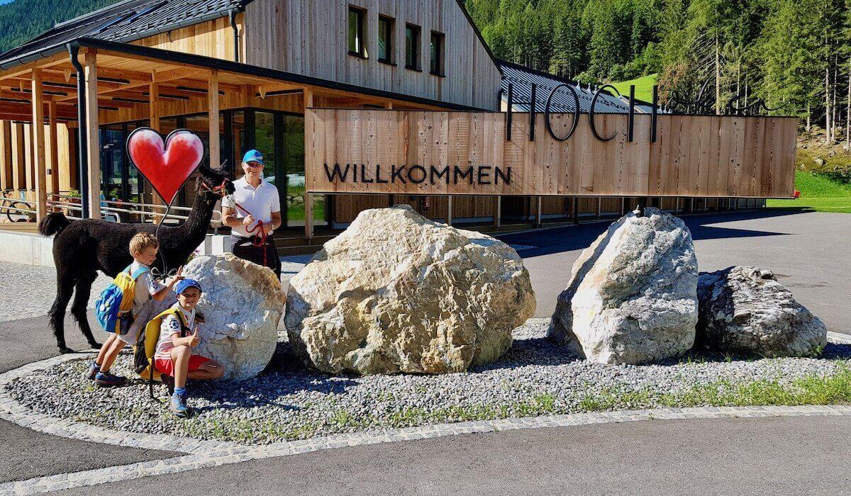 Trekking coi lama a Mallnitz: un'esperienza incredibile