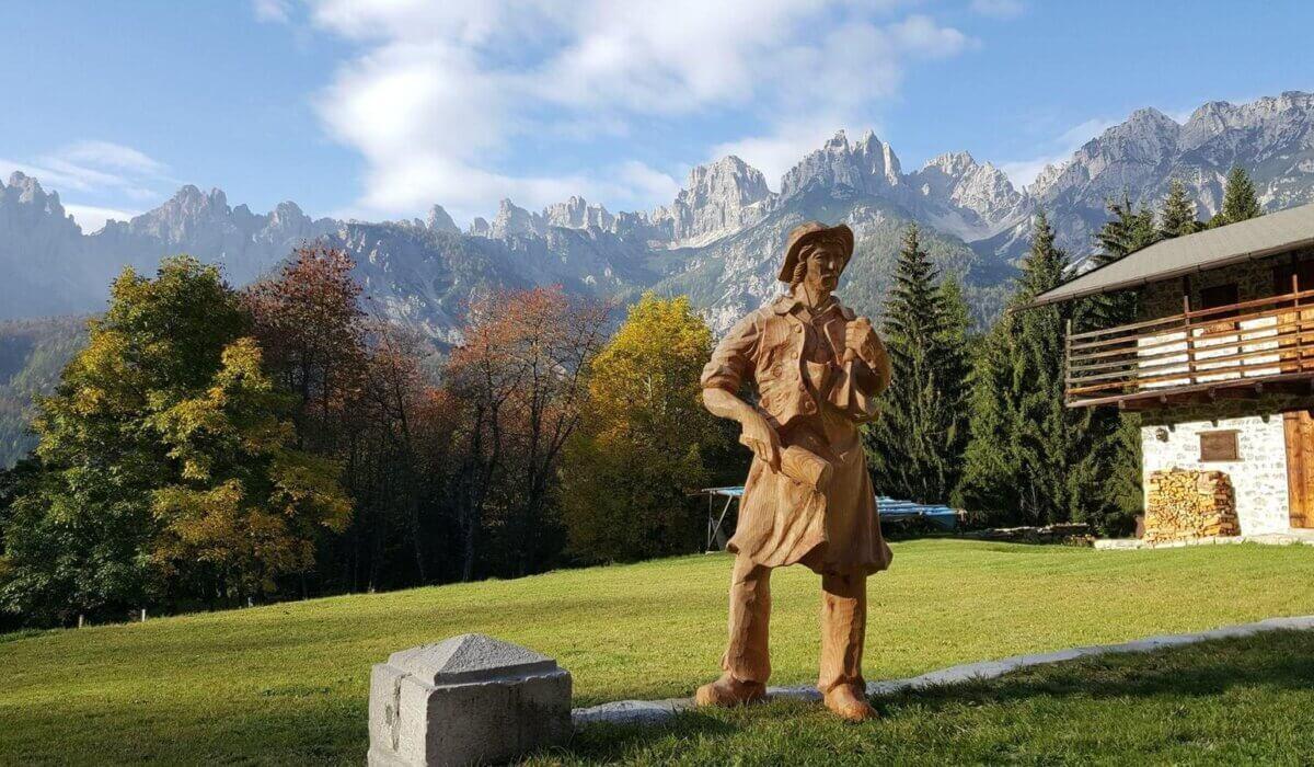Profumo di resina sulle Dolomiti Friulane